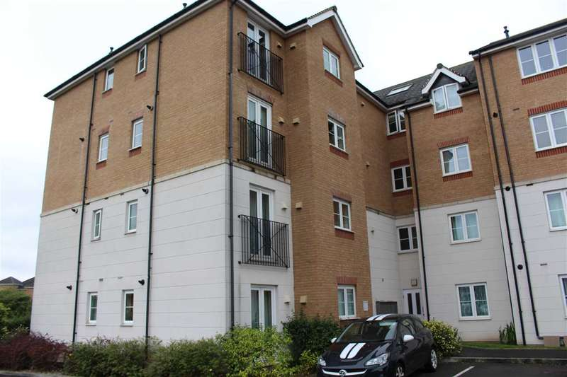 2 Bedrooms Apartment Flat for sale in Kingsholm House, Twickenham Close, Swindon
