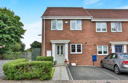 3 Bedrooms End Of Terrace House for sale in Elvaston Crescent, Newcastle upon Tyne, Tyne and Wear, NE3