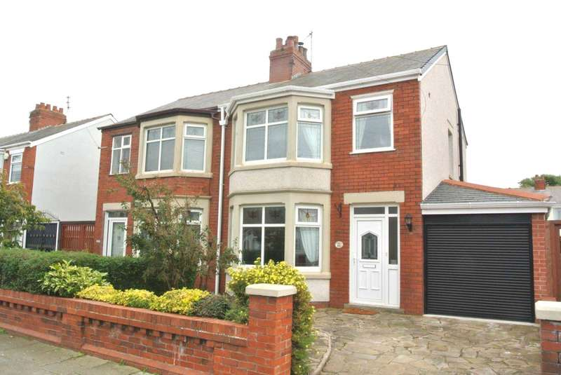 3 Bedrooms Semi Detached House for sale in Tewkesbury Avenue, Blackpool. FY4 2NF