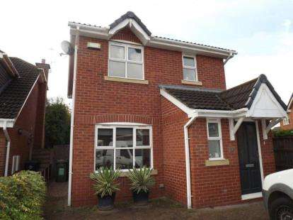3 Bedrooms Detached House for sale in Priory Avenue, Northwich, Cheshire