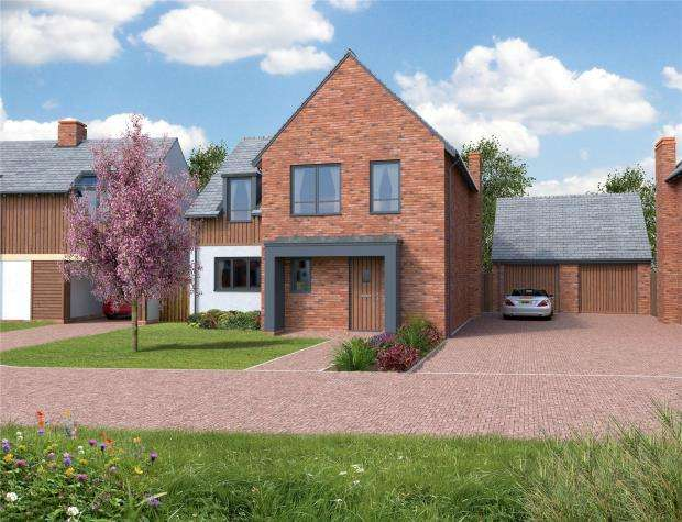 4 Bedrooms Detached House for sale in Orchard View, Kingfisher Rise, Newton St Cyres