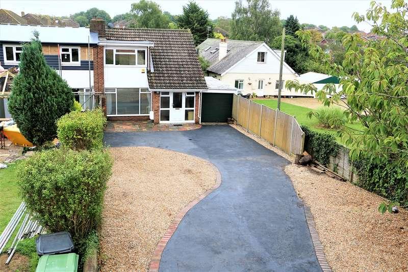 3 Bedrooms Semi Detached House for sale in Roman Road, Basingstoke, RG23