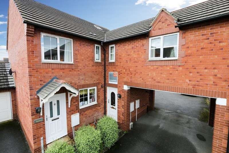 2 Bedrooms Terraced House for sale in Headingley Close, Broadfields