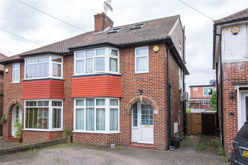 4 Bedrooms Semi Detached House for sale in Cleveland Gardens, Cricklewood, London, NW2