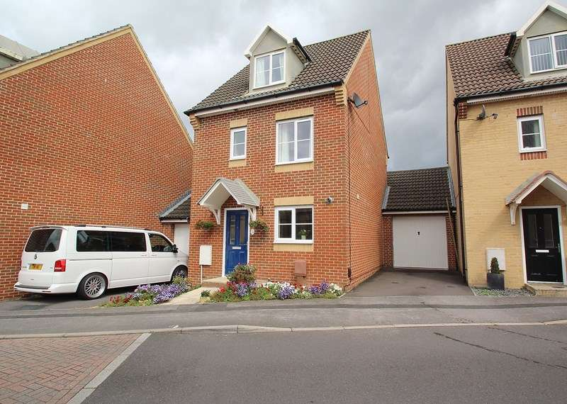 4 Bedrooms Link Detached House for sale in Sunlight Gardens, Fareham