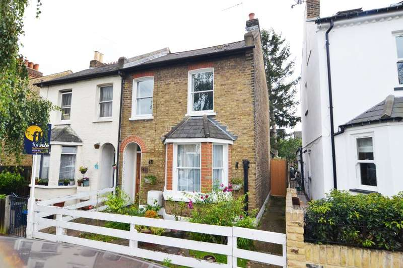 3 Bedrooms Semi Detached House for sale in Fulwell Road, Teddington, TW11