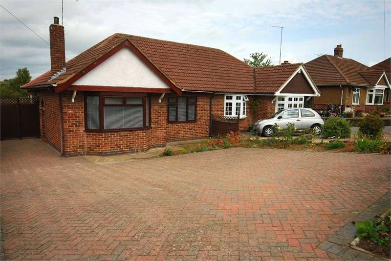 2 Bedrooms Semi Detached Bungalow for sale in Lower Hillmorton Road, RUGBY, Warwickshire