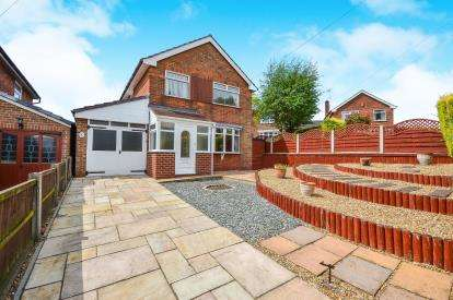 3 Bedrooms Detached House for sale in Leas Avenue, Pleasley, Mansfield, Nottinghamshire