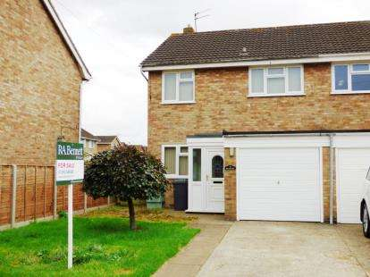 3 Bedrooms Semi Detached House for sale in Brionne Way, Longlevens, Gloucester, Gloucestershire