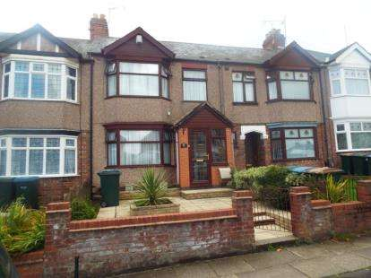 3 Bedrooms Terraced House for sale in Clovelly Road, Coventry, West Midlands
