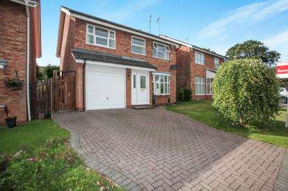 4 Bedrooms Detached House for sale in Foreland Way, Keresley, Coventry, West Midlands
