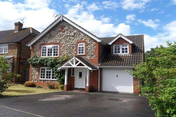 4 Bedrooms Detached House for sale in East Park Farm Drive, Charvil, Reading