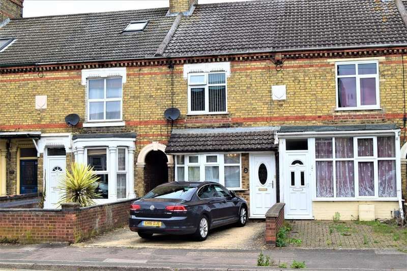 3 Bedrooms Terraced House for sale in Oundle Road, Peterborough, Cambridgeshire, PE2 9QY