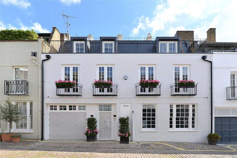3 Bedrooms House for sale in Ennismore Mews, London, SW7