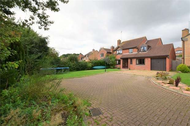 4 Bedrooms Detached House for sale in Tanfield Lane, NORTHAMPTON