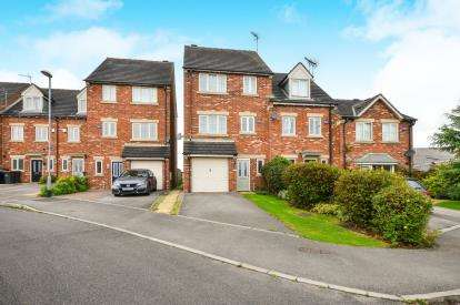 4 Bedrooms Terraced House for sale in Mill Pond Close, Kirkby-in-Ashfield, Nottingham