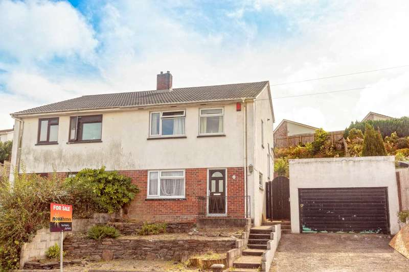 3 Bedrooms Semi Detached House for sale in Stanborough Road, Plymstock, PL9 8PH