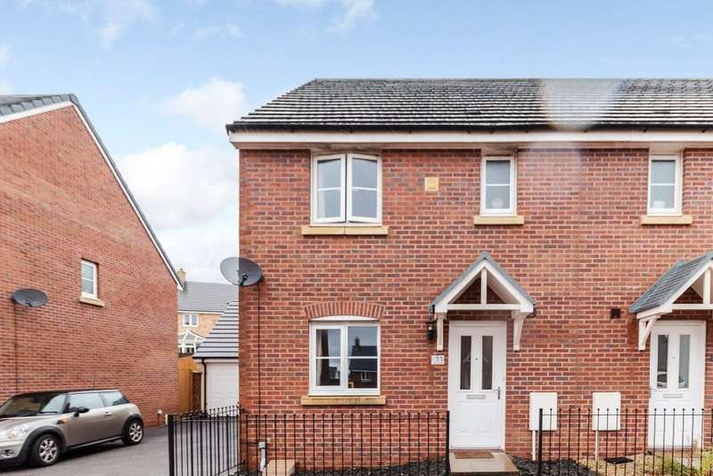 3 Bedrooms Semi Detached House for sale in Maes Yr Ysgall, Coity, Bridgend, CF35 6FF