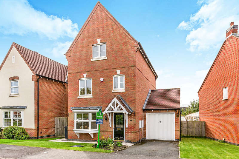 3 Bedrooms Detached House for sale in Glamorgan Way, Church Gresley, Swadlincote, DE11
