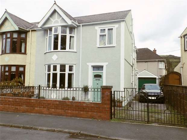 3 Bedrooms Semi Detached House for sale in Beechwood Road, Margam, Port Talbot, West Glamorgan