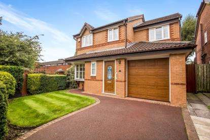 4 Bedrooms Detached House for sale in Fourfields, Bamber Bridge, Preston, Lancashire