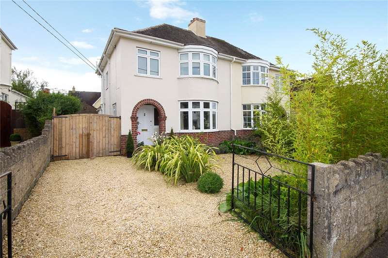 3 Bedrooms Semi Detached House for sale in Overhill Road, Stratton, Cirencester, Gloucestershire, GL7