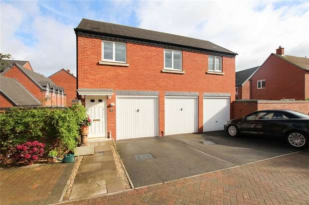 1 Bedroom Flat for sale in Crecy Place, Lichfield, Staffordshire