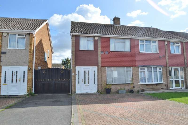 3 Bedrooms Semi Detached House for sale in Winchester Close, Colnbrook, SL3