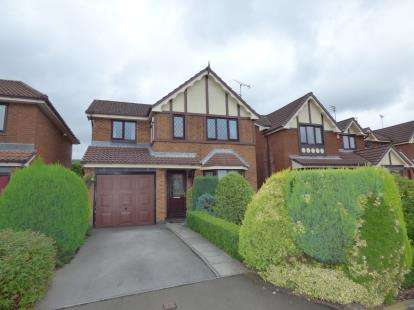 3 Bedrooms Detached House for sale in Fresnel Close, Hyde, Tameside, Greater Manchester