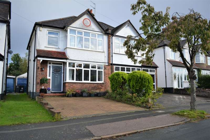 3 Bedrooms Semi Detached House for sale in Norman Avenue, South Croydon, CR2 0QE