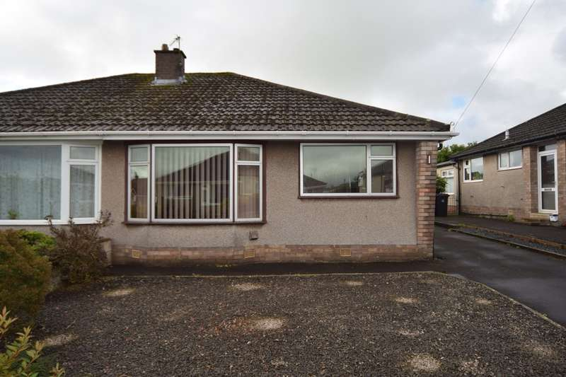 2 Bedrooms Semi Detached Bungalow for sale in Dorchester Crescent, Ulverston, Cumbria, LA12 9LP