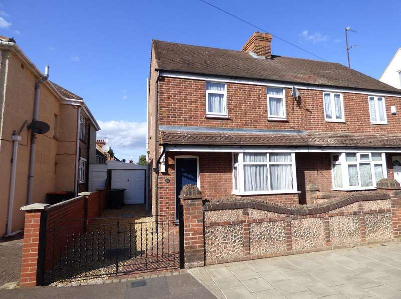 2 Bedrooms Semi Detached House for sale in Honey Hill Road, Bedford, MK40 4NZ