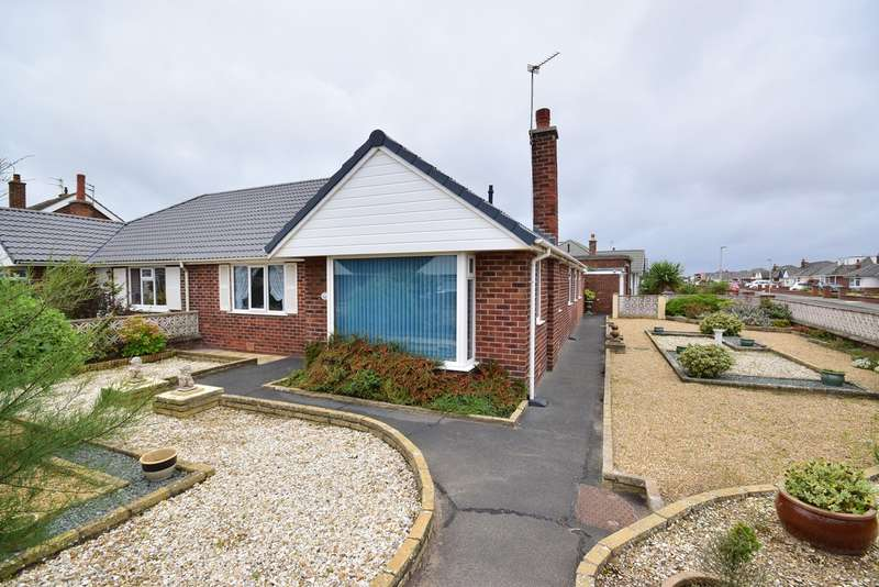 2 Bedrooms Semi Detached Bungalow for sale in Kilgrimol Gardens, Lytham St Annes, FY8