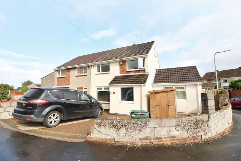 3 Bedrooms Semi Detached House for sale in Monnow Way, Bettws, Newport, NP20