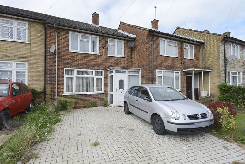 3 Bedrooms Terraced House for sale in Long Readings Lane, Slough, Berkshire, SL2