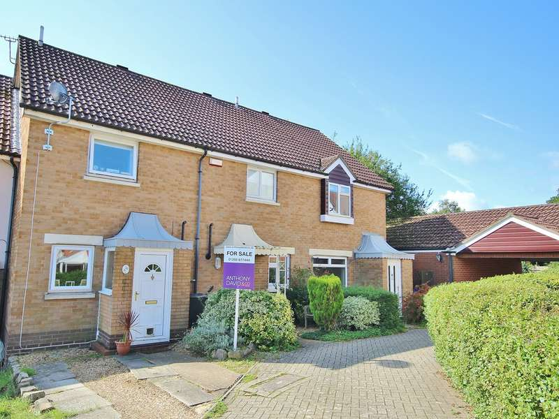 2 Bedrooms Terraced House for sale in Totmel Road, Canford Heath, Poole, BH17