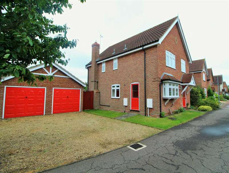 4 Bedrooms Detached House for sale in Howards Croft, Mile End, Colchester