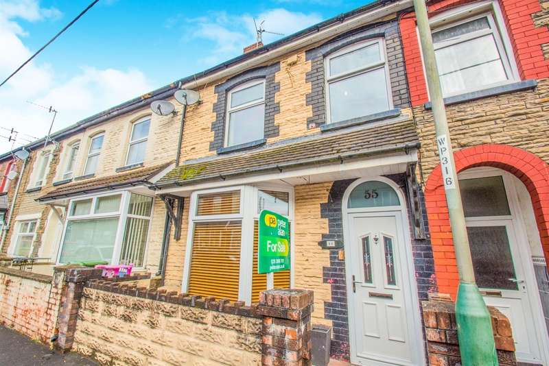 3 Bedrooms Terraced House for sale in Coedcae Road, Abertridwr, Caerphilly