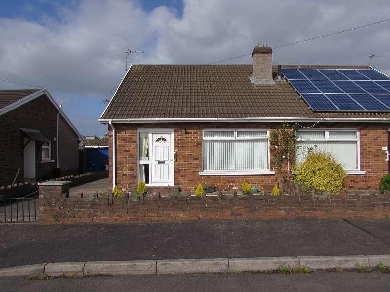 2 Bedrooms Semi Detached House for sale in Heol Croesty , Pencoed, Bridgend. CF35 5LT