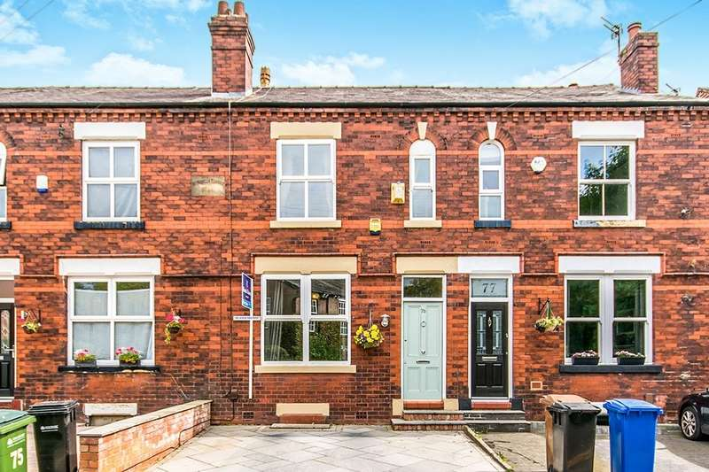 3 Bedrooms Terraced House for sale in Moorland Road, STOCKPORT, SK2