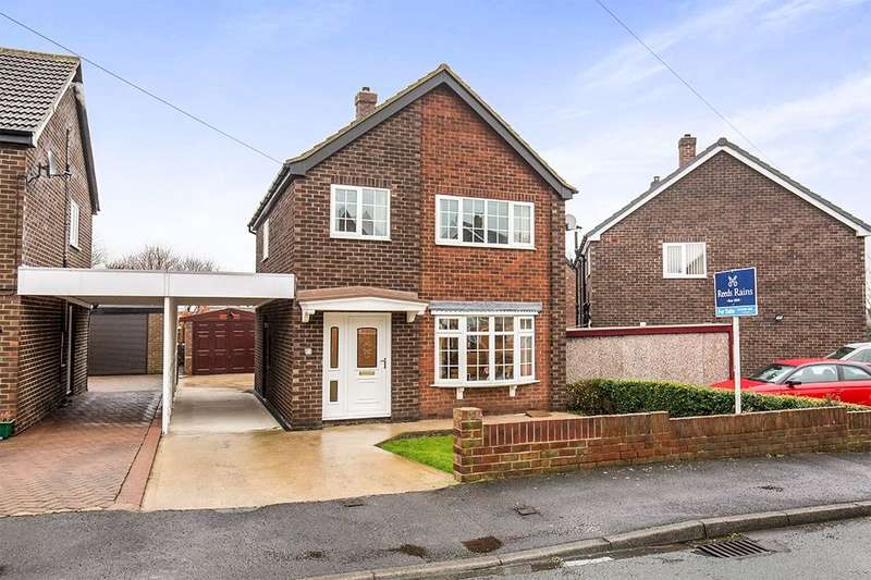 3 Bedrooms Detached House for sale in St. Helens Drive, Micklefield, Leeds, LS25