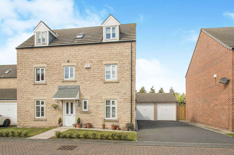 4 Bedrooms Detached House for sale in Regent Place, Thorpe, Wakefield, WF3