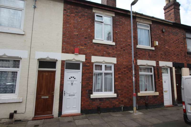 2 Bedrooms Terraced House for sale in Oldfield Street, Stoke-On-Trent, ST4