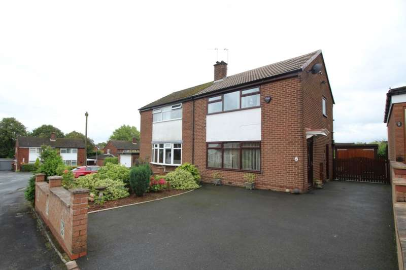 3 Bedrooms Semi Detached House for sale in Dalesford Crescent, Macclesfield, SK10