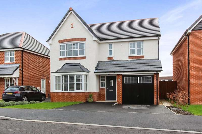 4 Bedrooms Detached House for sale in Lapwing Close, Claughton-On-Brock, Preston, PR3