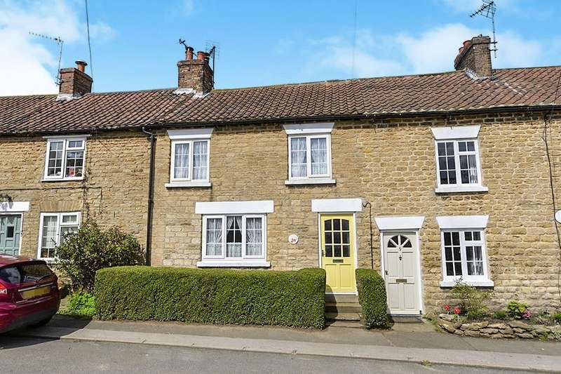 2 Bedrooms Terraced House for sale in Prospect Terrace, Welburn, York, YO60