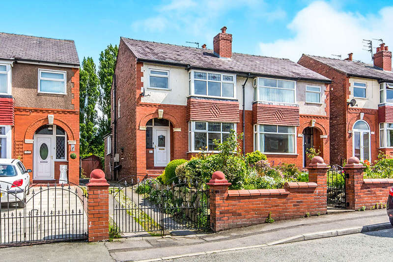 3 Bedrooms Semi Detached House for sale in St. Lesmo Road, Stockport, SK3