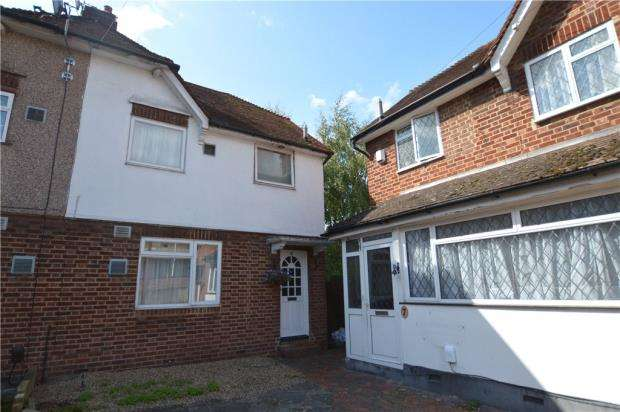 3 Bedrooms Semi Detached House for sale in Lynch Close, Uxbridge