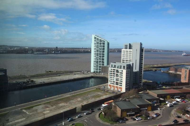 2 Bedrooms Flat for sale in Brook Street, Liverpool, L3