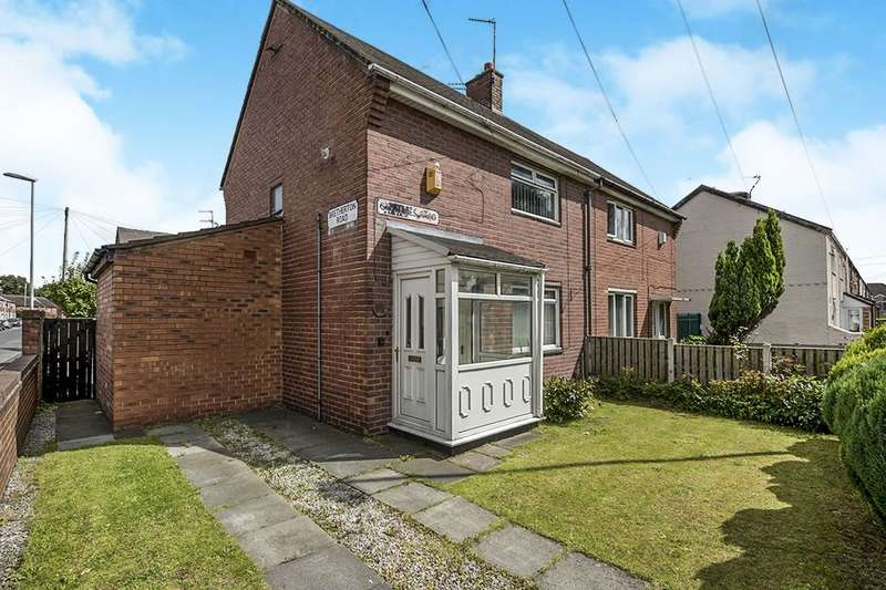 2 Bedrooms Semi Detached House for sale in St. James Road, Prescot, L34